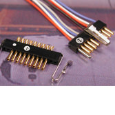 Micro Single Row Connectors SSB Series (female) by Omnetics Connector Corp.