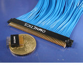 Micro Dual Row Connectors SSO Series (female) by Omnetics Connector Corp.