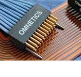 Micro Strip Dual Row Connectors DRS Series (female) by Omnetics Connector Corp.