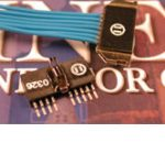 Micro Single Row Connectors PS1/PS2 Series (male) by Omnetics Connector Corp.