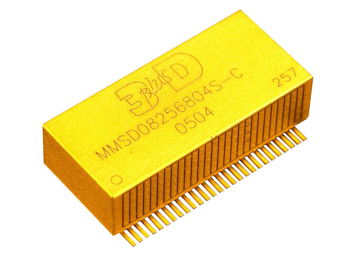 DDR2 SDRAM Space Grade Radiation Tolerant Memory Stacks