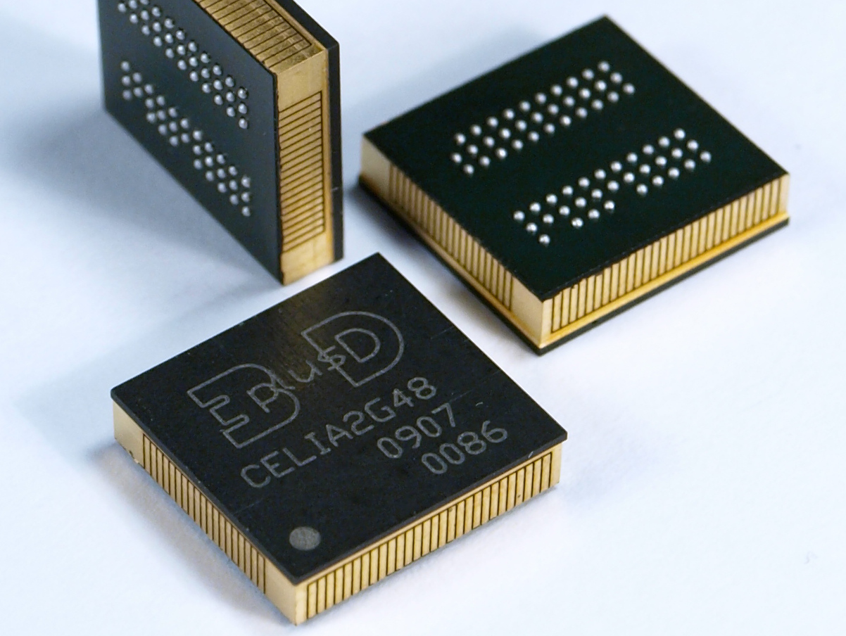 FLASH NAND Industrial Grade Memory Stacks