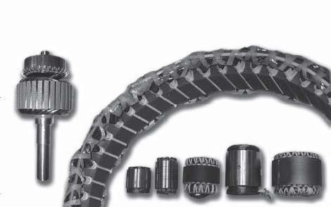 Customized rotors and stators