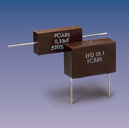 PCR85 (radial) Metallized Composite Capacitors