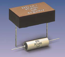 PCM85 (axial) Metallized Composite Capacitors