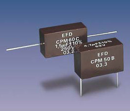 PM50 (radial) Metallized Polyester capacitors