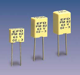 PM82 (radial) Metallized Polyester capacitors