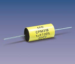PM21 (axial) Metallized Polyester capacitors