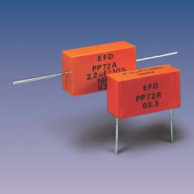 PP72R (radial) Metallized Polypropylene Capacitors