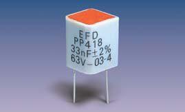 PP418 (radial) Polypropylene Film-Foil Capacitors