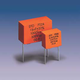 PS*4 (radial) Metallized Polypropylene + Film-Foil Capacitors