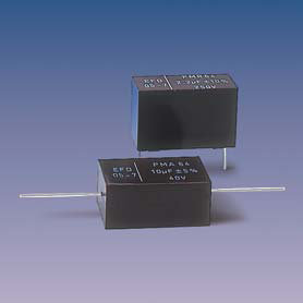 PMR64.(T) (radial) Metallized Polycarbonate capacitors