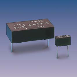 PM72.(T) (radial) Metallized Polycarbonate capacitors