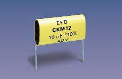 KM151 (T*) (radial) Metallized Polycarbonate capacitors