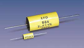 P72S (T*) (axial) Metallized Polycarbonate capacitors