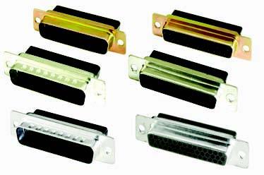 DC Series Crimp D-Sub Connectors