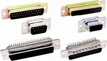 DS Series Vertical PCB Mount Connectors