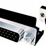 DR3 Series 0.350 Footprint High Density Right Angle PCB Mount D-