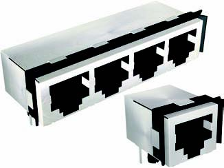 RE155 Series CAT 5e - Hi-Performance RJ45 Jacks with Gaskets
