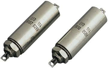 Transient Suppressor Feed Through EMI/RFI Filters